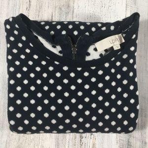 Ann Taylor Loft 3/4 Sleeve 100% cotton Sweater